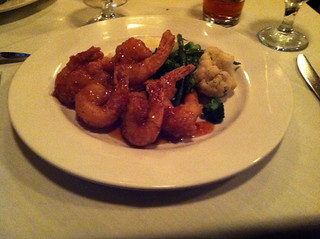 Beignet of Gulf Shrimp at Michael John's Restaurant, Bradenton FL