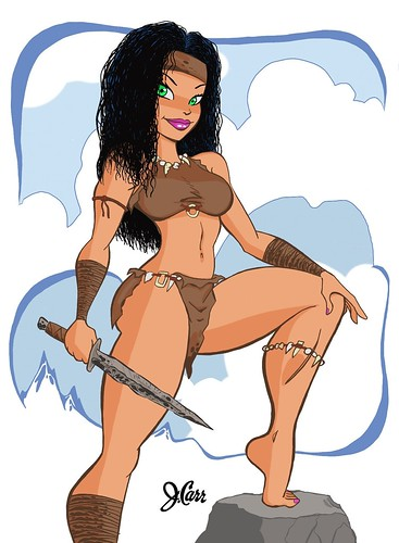 Warrior Princess Edited by jcarrtoons