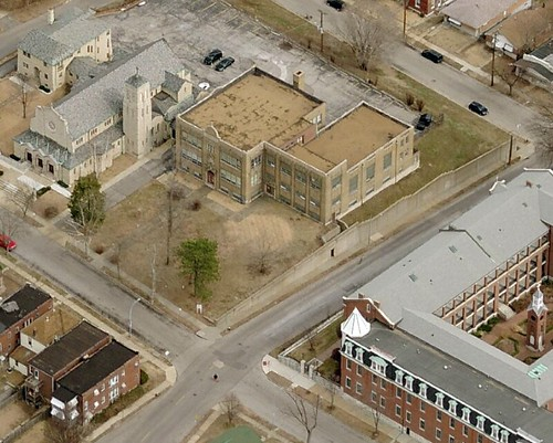 Saints Mary & Joseph Parish School Aerial