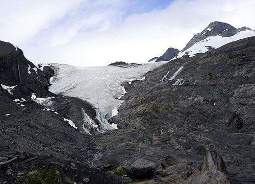 Worthington Glacier by RV Bob