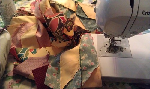 Build Me Up Buttercup: sewing blocks together