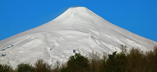 Villarica Volcano.Pucon. Chile. Araucanian Patagonia.