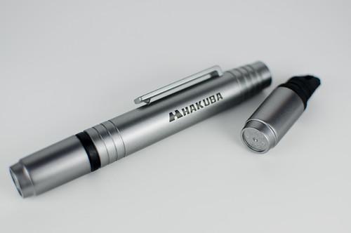 HAKUBA レンズペン デジクリア メタリックグレー ヘッドスペア付 KMC-LP3M