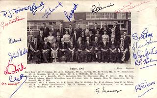 Staff 1960