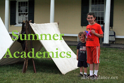 Summer Academics: Practicing Math and Writing Skills - To help your kids retain the information they learned the previous school year, have them practice their math and writing skills during the summer.