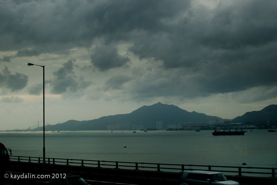 hong kong Е11 bus view