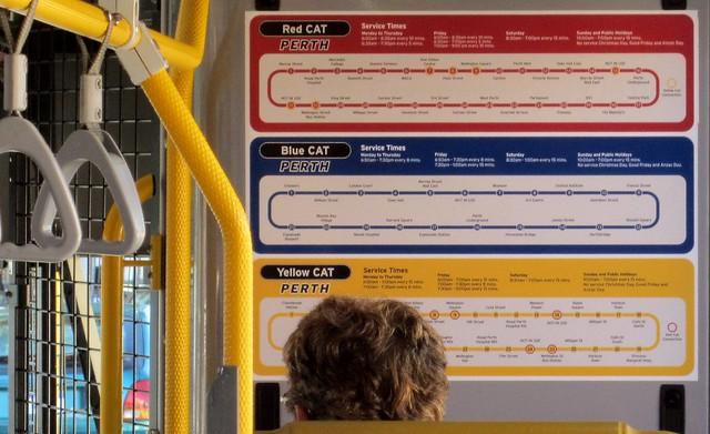 Perth CAT bus
