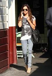 Ashley Tisdale Graphic Tshirt Celebrity Style Women's Fashion