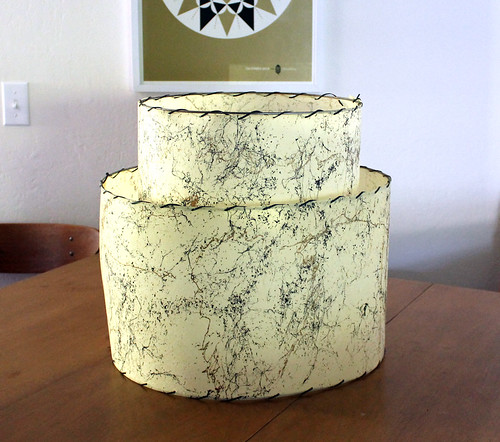 Vitamini Handmade Restoring A Fiberglass Lampshade Part 1