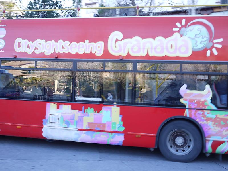 格瑞那達的觀光車