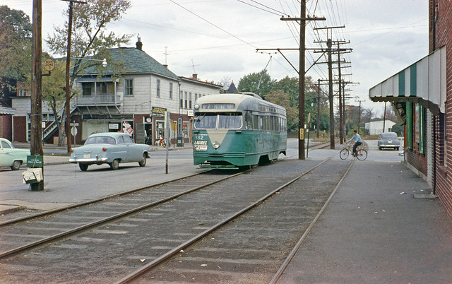 Riverdale Park Trolley 1950 S Flickr Photo Sharing