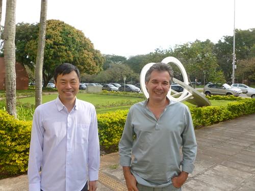 Professors Davi Nakano & Eduardo Vicente