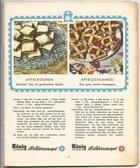 König Bilderrezepte No1: Apfelkuchen #26 / Apfelschlankel #78