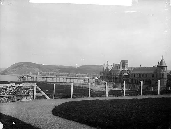 The college, Aberystwyth