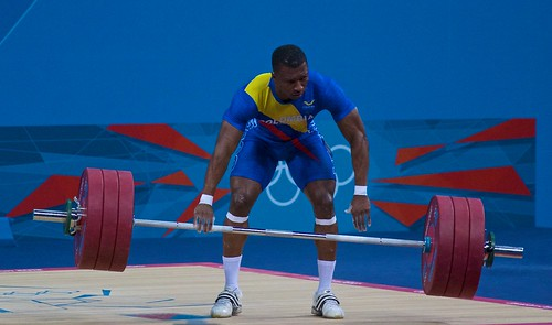 Oscar Albeiro Figueroa Mosquera - Clean and Jerk - Bar Drop