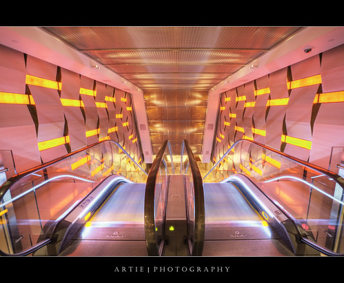 Inside The Crown Casino, Melbourne, Australia :: HDR