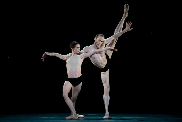 Olivia Cowley and Ed Watson in Carbon Life. ©Bill Cooper/ROH/2012