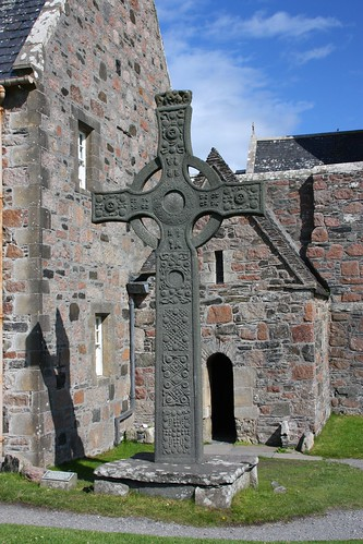 St. John's Cross (replica) on Iona