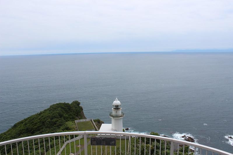 地球岬での景色