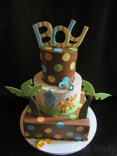 jungle baby shower cake flickr photo sharing