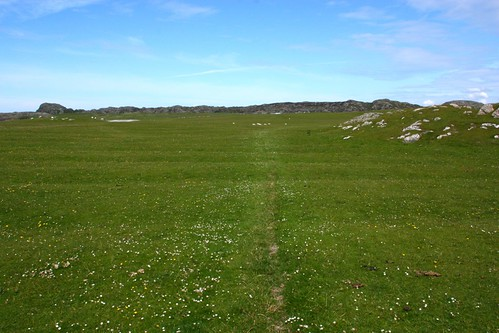 Faint path on Iona
