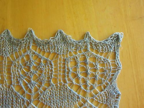 Shetland Shawl Dress Swatch
