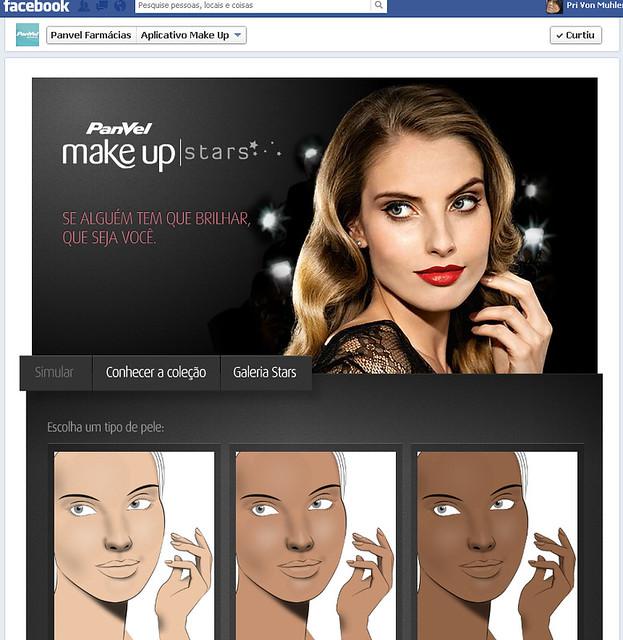 Teste sua maquiagem Panvel online