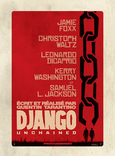 Django Unchained - Affiche France