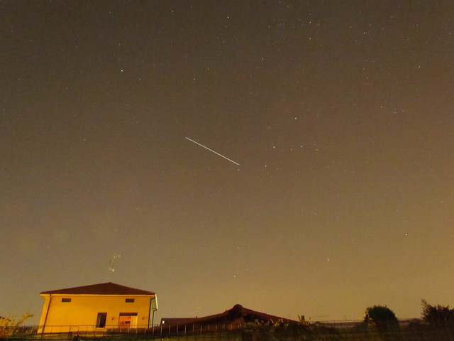 ISS entering Cassiopea