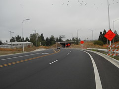 The highway 213 bridge over Washington St (Clackamas River Road on the far side)