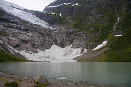 213 en el Glaciar de Brevatnet