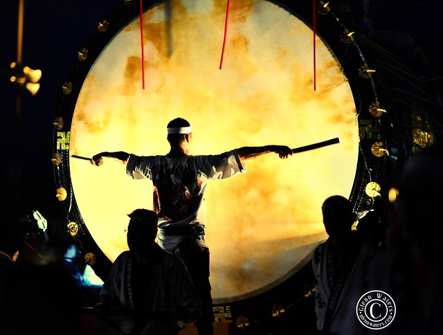 Big Drum at Neputa Festival. (Hirosaki Japan). © Glenn E Waters.  Over 5,000 visits to this image.