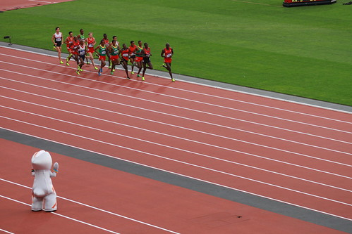 Athletics, Olympic Stadium, Olympic Park - 11 August 2012 (Evening)