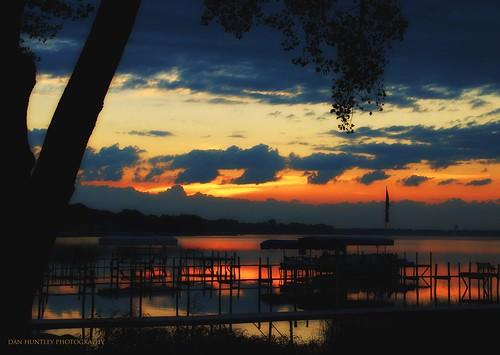 sky lake clouds sunrise landscape dock shoreline iowa clearlakeia tamronaf18270mm