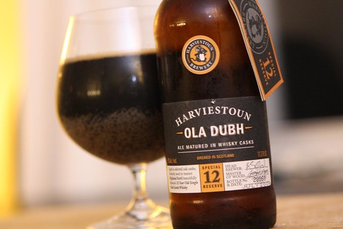 Harviestoun Brewery Old Dubh