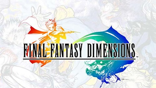 Final Fantasy Dimensions Offers Old School Play on iDevices