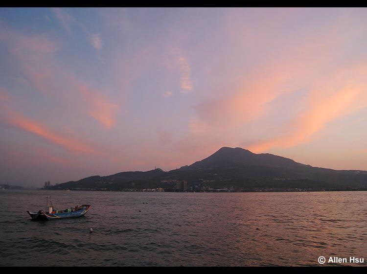 淡水夕景 Danshuei sunset