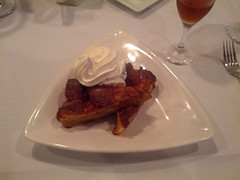 Bread Pudding, Duval's New World Cafe, Sarasota, FL