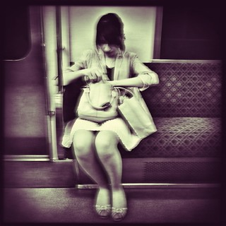 Lady on the train #2