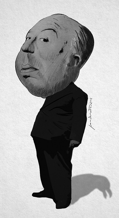 Alfred Hitchcock (pequeño)