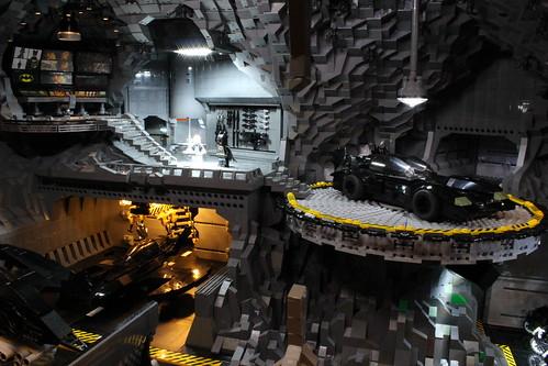 Geek Art Gallery Lego Creation Bat Cave