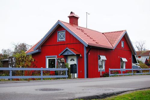 Det rödaste huset i världen