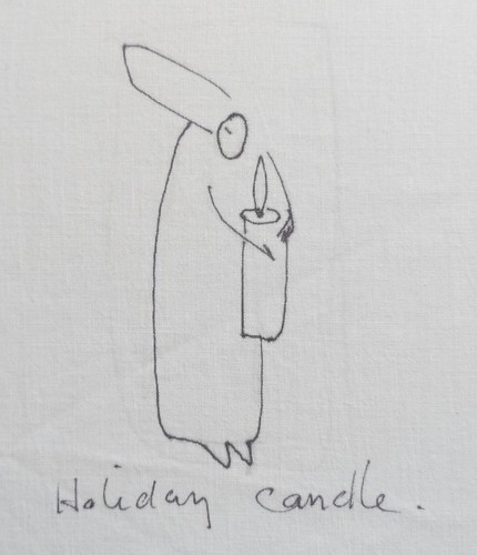 holidaycandle by tobin eckian