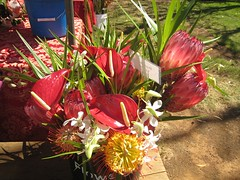 Bouquet at Waimea Farmers Market