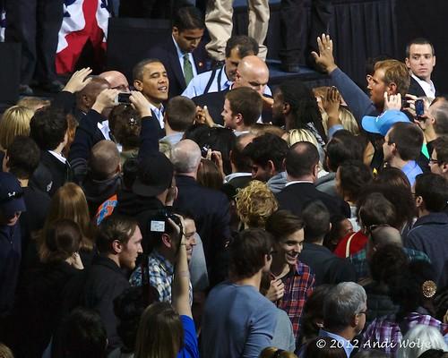 Obama Rally 11/05/12
