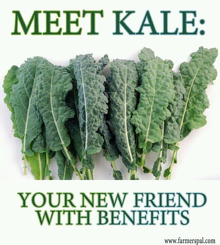 Kale Friends with Benefits