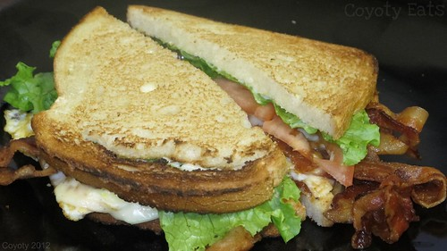BLT with egg and cheese by Coyoty