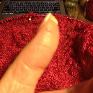 #workmanscomp #papercut #messingwithmyknitting #owdamnit