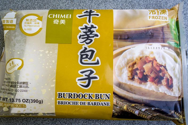 Frozen Burdock buns