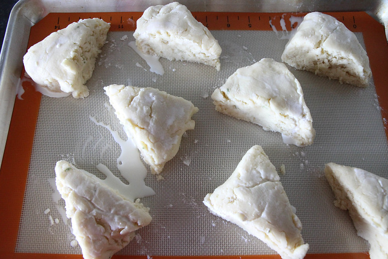 Coconut Lime Scones